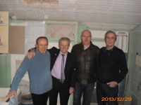 bezoek in Italië Rovatti-Benassi-Balboni